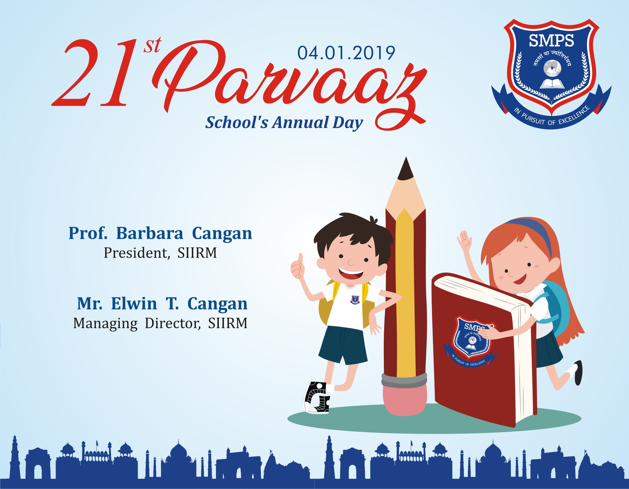 PARVAAZ 2019 - Annual Day @SMPS